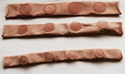 9 inch Strip Of Mineral Gel Toe Tube Protector / Separator / Pads Corns Callus (Medium)
