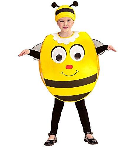 shoperama Kinder-Kostüm Riesenaugen Motivauswahl Gr. 104-110 Biene Katze Kürbis Jungen Mädchen Kopfbedeckung Mütze, ()