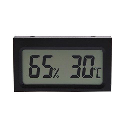asiproper Digital LCD Innen-Luftfeuchtigkeit Temperatur Messgerät Thermometer Hygrometer