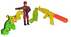 Toyzstation Combo of 5 Fun Water Guns For Holi Festival