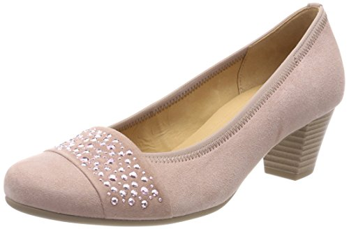 Gabor Shoes Damen Basic Pumps, Mehrfarbig (Antikrosa), 39 EU