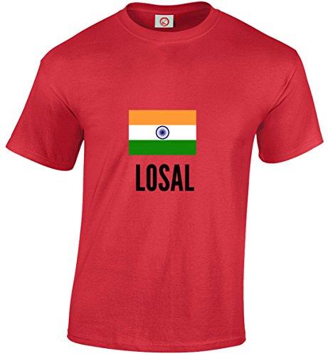 T-shirt Losal city rossa