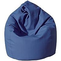13Casa - Dea A3 - Poltrona sacco. Dim: 70x70x110 h cm. Col: Blu. Mat: Ecopelle.