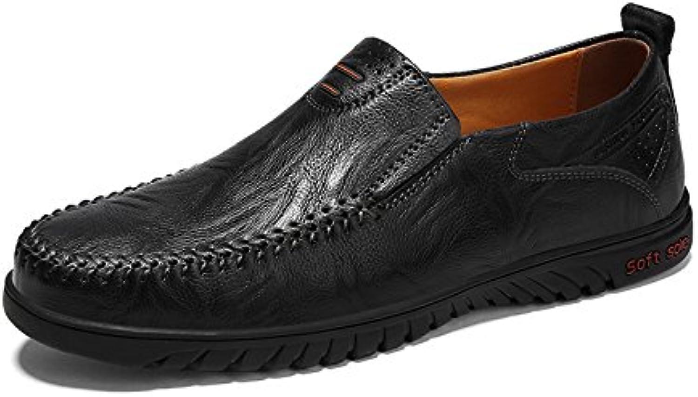 Donyyyy Der Fuß slacker Schuh Männer Schuhe  schwarz  43