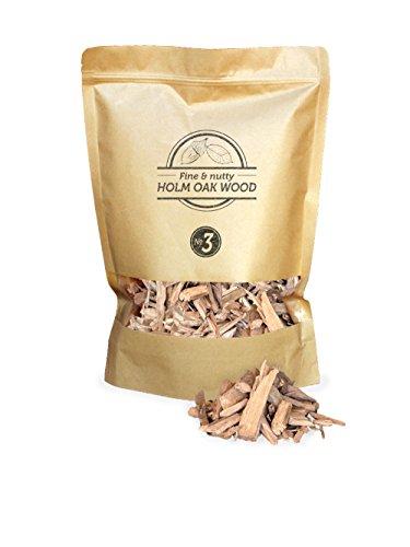 Smokey Olive Wood sow-107 copeaux de bois de chêne, marron
