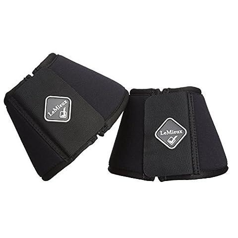 LeMieux Soft Shell Over Reach Boots - Black, 2X-Large