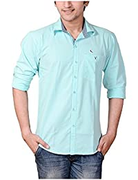 Anry Cotton Casual Shirts For Men_4100