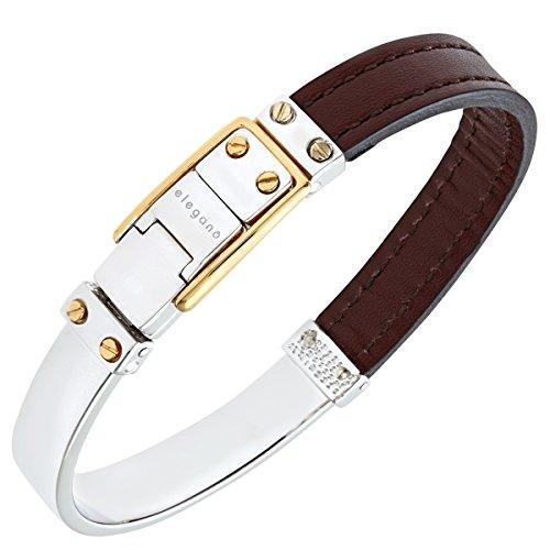 Citerna rhodiniert und vergoldetes Armband