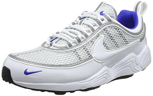 Nike Herren Air Zoom Spiridon '16 Gymnastikschuhe, Weiß (White/White/Pure Platinum/Racer Blue 104), 46 EU