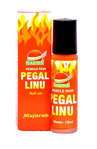 GADING Muscle Pain Pegal Linu Roll On Oil 10ml For pain Relief