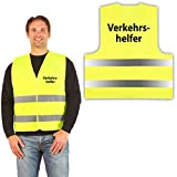 easyMesh® Signalweste Warnweste Gelb Gr. XL/XXL Verkehrshelfer