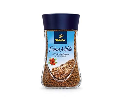 Tchibo Feine Milde natur mild instant löslicher Kaffee weltweit besten Anbaugebieten