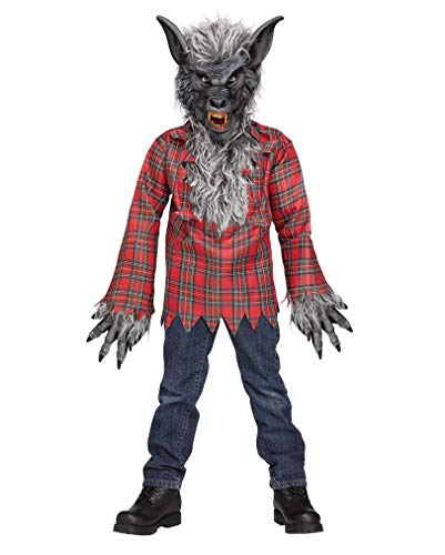 Werwolf Kinderkostüm Grau -