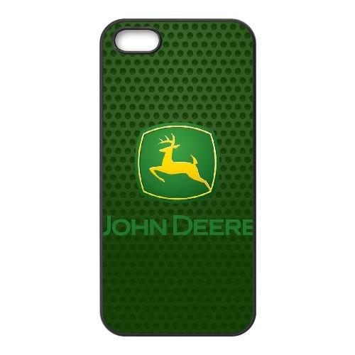 iPhone 5 5s SE Cell Phone Case Black John Deere JD Logo Custom Case Cover WDGI11765 (Iphone 5s Wwe)