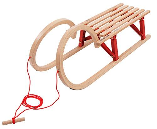 HUDORA luge à cornes luge pliable rouge 11920 100 cm