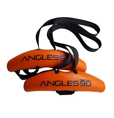 Angles90 – Der erste dynamische Trainingsgriff für Klimmzugstangen, Langhanteln und Rückentrainings-Geräte