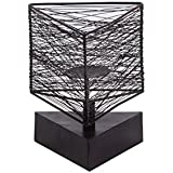 Sammsara Home Decorative Iron Geo Triangle Wire Candlestand For Votive Candles,Tea Light Candles & Pillar Candles