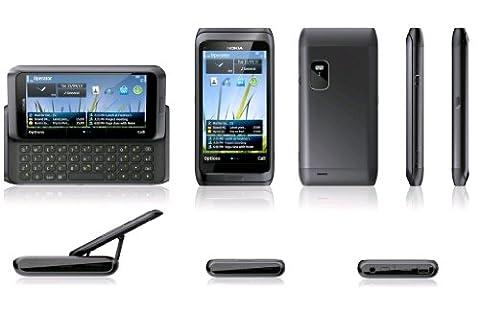 Nokia E7-00 Silver White Silver White QWERTY keyboard 4 inch Touchscreen Slider 16GB 8 MP camera GPS WIFI HDMI unlocked