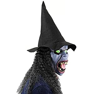 Máscara de la bruja, Halloween