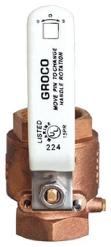 groco full-flow in-line Ball Valves IBV Series - Bronze by groco - Series Ball Valve