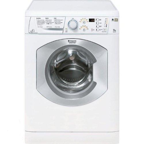 Hotpoint HAF 921 S FR Autonome Charge avant 9kg 1200tr/min A+ Blanc machine à laver - machines à laver (Autonome, Charge avant, A+, B, Blanc, Gauche)