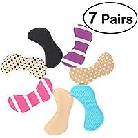 Healifty Füße Aufkleber 7 Paar Selbstklebende Weichen Schwamm Fußpflege Protector Einlegesohle Liner Ferse Schuhe... preisvergleich bei billige-tabletten.eu