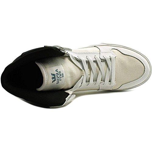 Supra VAIDER S28058 Unisex - Erwachsene Sportive Sneakers WHITE/BLACK-WHITE