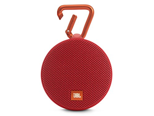 JBL Clip 2 Waterproof Bluetooth Speakers (Red)