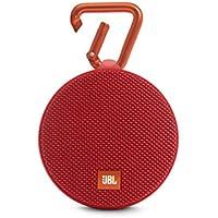 JBL Clip 2 Enceinte Etanche Ultra-Portable Bluetooth - Rouge