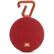 JBL Clip 2 Altoparlante Bluetooth Portatile, Rosso