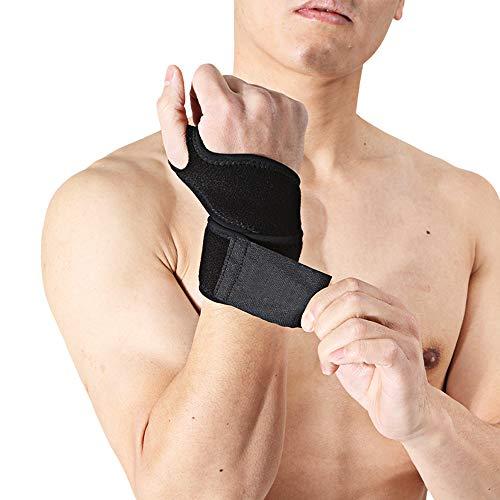 HBRT Badminton-Armband, 1 Paar verstellbaranti-Sprain Reiten Fitness-Sport Handgelenk, hochwertige Tauchmaterial für Fitness (Baseball-handgelenk-protektor)