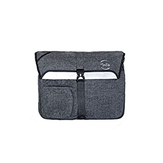 ACR Shoulder Bag, Flecked Grey (Grey) - MRGOCITY17L
