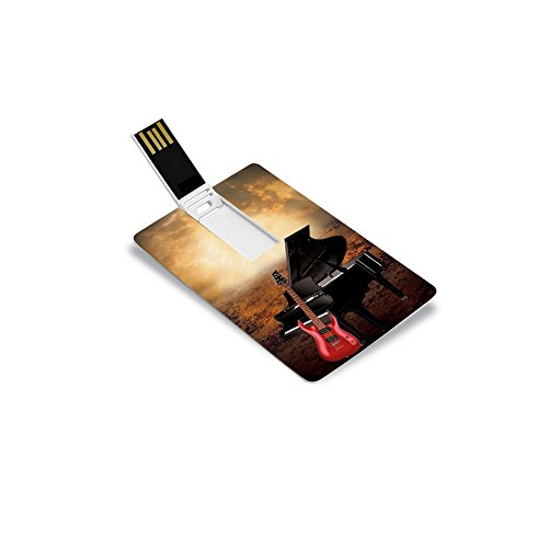 Music Card: Piano & Guitar Instrumentals (320 Kbps Mp3 Audio) (4 GB)