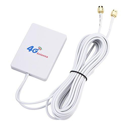 VBESTLIFE 28dbi High Gain 4G 3G LTE Signal Verstärker Antenne für Mobile Router,Geeignet für Huawei E398 / E3276 / E392(Jack SMA männlich)