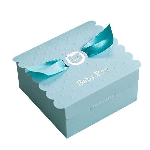 (Ponatia Einladungskarten für Taufe oder Baby-Party, mit Umschlag und Siegel, Rosa, 25 Stück Blue Box)