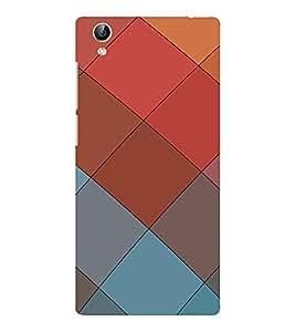 EPICCASE squares Mobile Back Case Cover For Vivo Y51 (Designer Case)