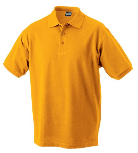 James & Nicholson Herren Poloshirt - - gold-yellow