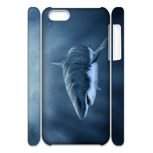 LP-LG Phone Case Of Deep Sea Shark For Iphone 4/4s [Pattern-6] Pattern-3
