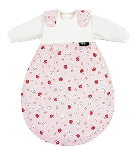 Alvi 713-2 Baby-Mäxchen 3tlg. Glückspilz rosa Das Original, Größe:50/56