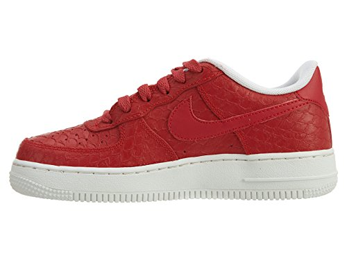 Nike Air Force 1 Lv8 (Gs), Scarpe da Basket Bambino Rojo (Rojo (action red/action red-summit white))