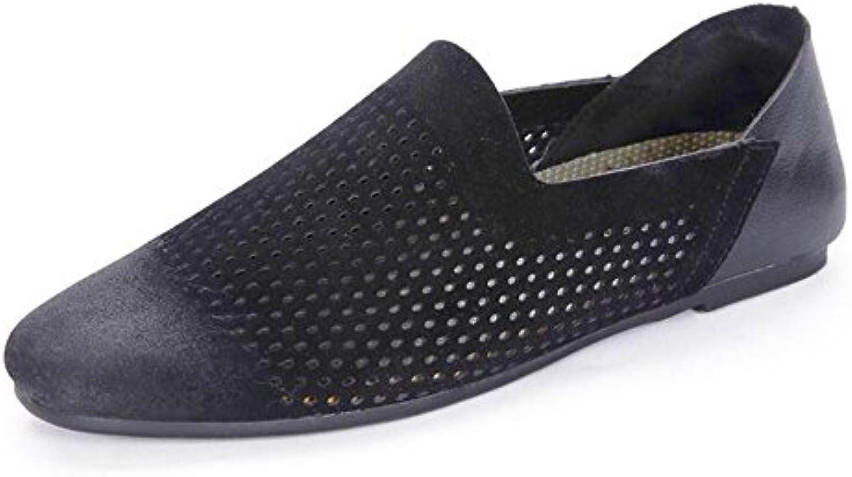 JUNBOSI - Zapatos de Cordones para Hombre -