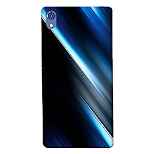 DASM United Sony Xperia Z2 Premium Back Case Cover - Fade Out Abstract