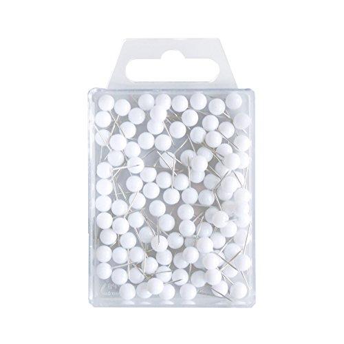 wedo-56100-marquage-aiguille-tete-ronde-broches-longueur-16-mm-tete-diametre-6-mm-blanc-lot-de-100