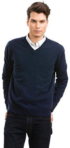Pullover Herren - 100% Kaschmir - Citizen Cashmere (M Navy Blau) 42 100-03-02