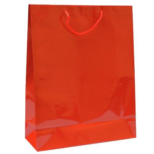 Garcia-de-Pou-100-Unit-Shopping-Bag-with-Cord-Handle-4015-x-50-cm-Kraft-paper-Red-40-x-50-x-30-cm