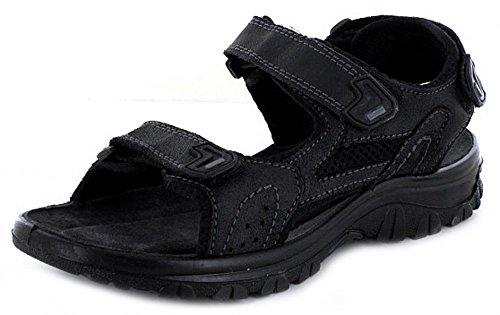 Q-Schuh Sandale Sp-Boden Schwarz