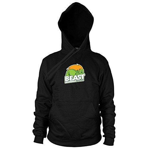 Beast Power - Herren Hooded Sweater, Größe: XXL, Farbe: ()
