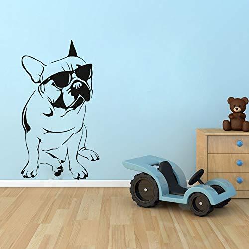 Hohe Kälte Lustig Mit Sonnenbrille Hund Wandaufkleber Wohnzimmer Schlafzimmer Kinderzimmer Dekoration Tapete Wandaufkleber