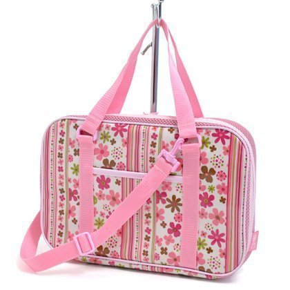 Kids Calligraphy, penmanship bag rated on style flower park in Scandinavia (bag only) (pink) made in Japan N2201300 (japan import)