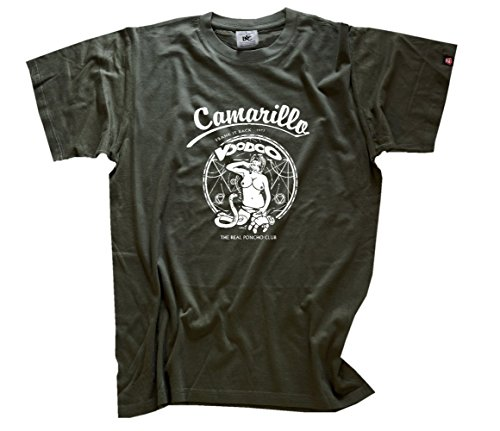 Famous Songs - Camarillo Voodoo T-Shirt Olive XXL
